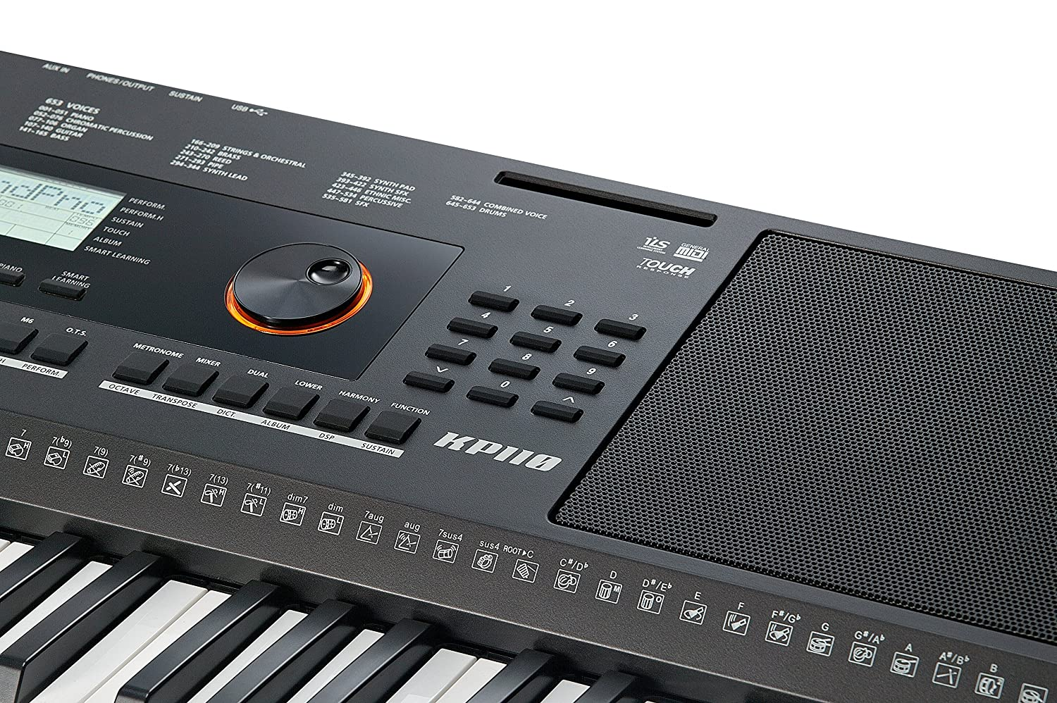 Amazon.com: Kurzweil Home KP110 61-Note Portable Arranger Keyboard with Performance Assistant (KP-110): Musical Instruments