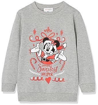 RED WAGON Sudadera Disney Minnie Mouse Niñas, Gris (Grey Marl 001), 8 años: Amazon.es: Ropa y accesorios