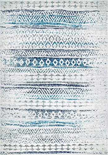 nuLOOM Roxanni Transitional Area Rug, 8 x 10 , Blue
