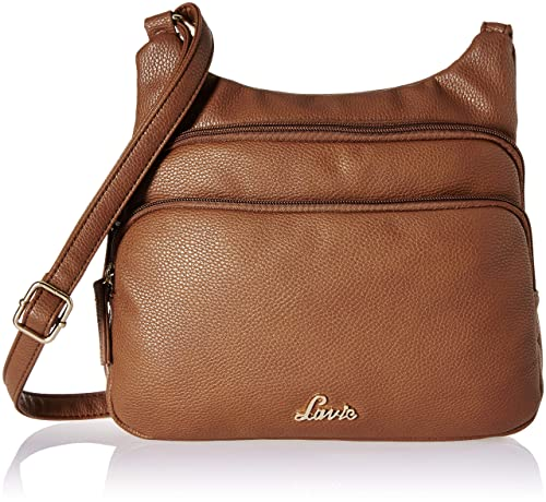 Lavie Cetan Women s Sling Bag (Tan)  Amazon.in  Shoes   Handbags 090fd758a9200