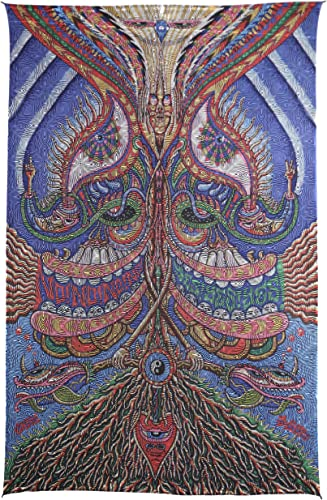 Sunshine Joy Special Edition Yes Yes Yes No No No Optical Illusion Tapestry Beach Sheet Hanging Wall Art – Artwork By Chris Dyer – Amazing Visual Effects – 60 x 90 Inches
