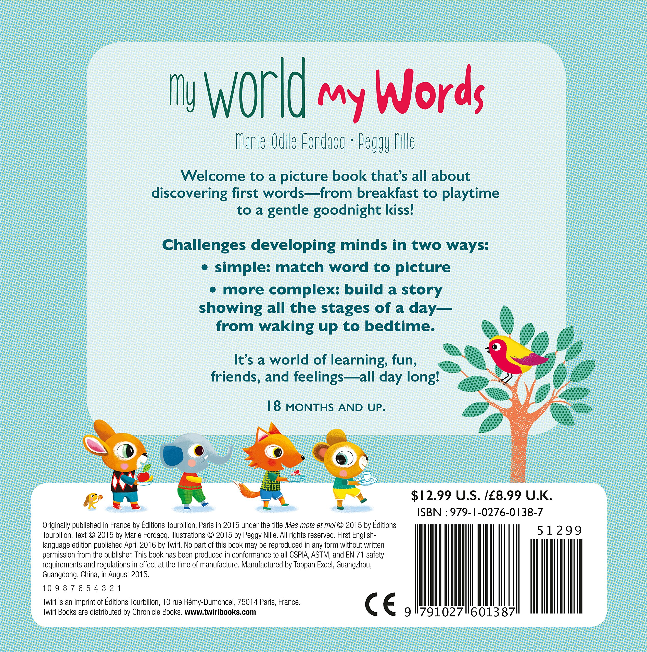 My World My Words: A Toddler\'s First Words: Marie Fordacq, Peggy ...