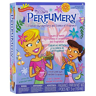 Scientific Explorer My Own Perfumery Kids Science Experiment Kit: Toys & Games