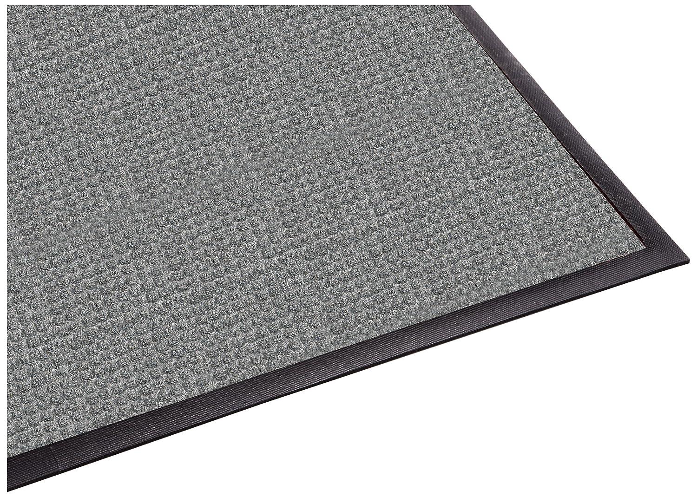 Guardian WaterGuard Indoor/Outdoor Wiper Scraper Floor Mat, Rubber/Nylon, 3'x5', Grey 3'x5' Millennium Mat Company WG030510