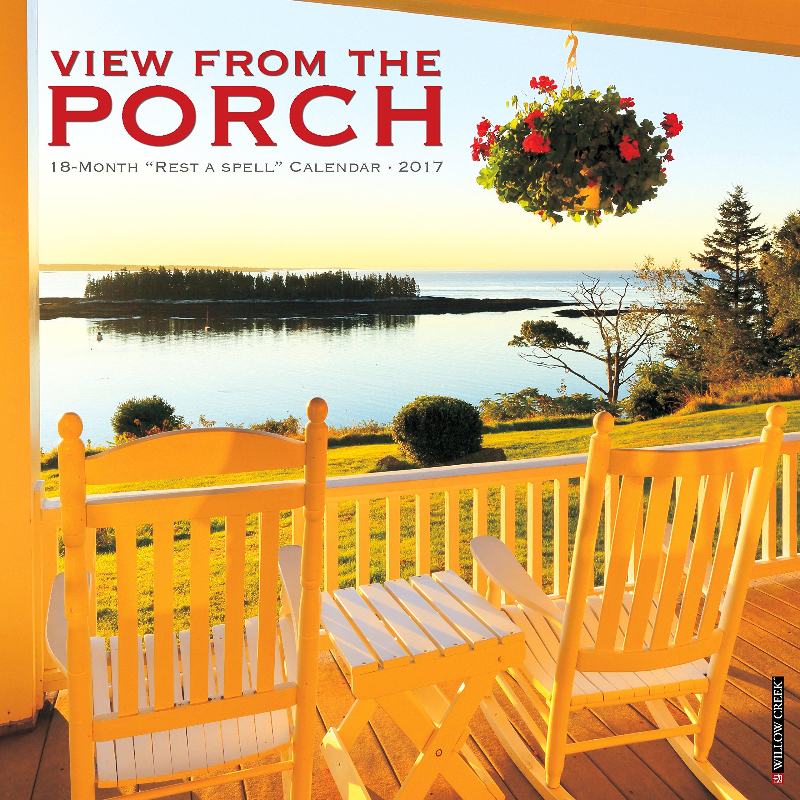 Amazon.com: Porch View 2017 Wall Calendar (0709786037513): Willow ...