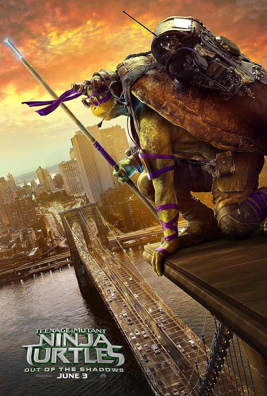 "DONATELLO - Teenage Mutant Ninja Turtles: Out of the Shadows - 24"" x 36"" - Movie Poster (THICK) - Megan Fox"