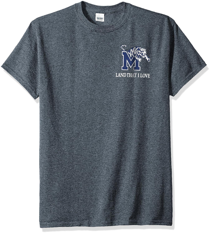 激安 NCAA B01NAS20RS Memphis TigersフラグGlory半袖シャツ NCAA Large Memphis ダークヘザー B01NAS20RS, イズモザキマチ:66bd3d71 --- a0267596.xsph.ru