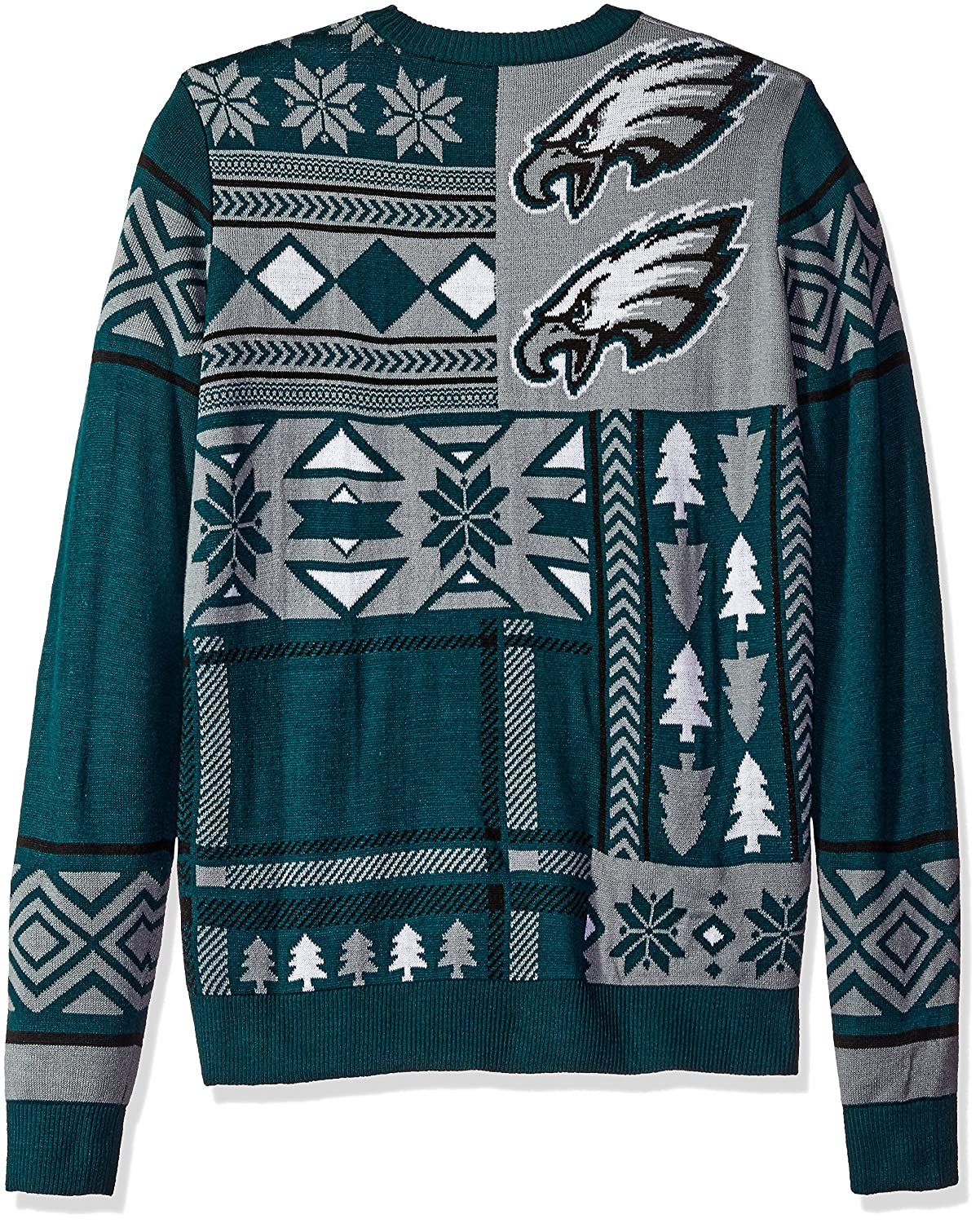 FOCO NFL Patches Style Ugly Sweater