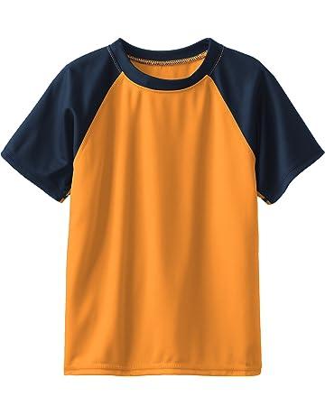 e2ef7c353c Kanu Surf Boys' Short Sleeve UPF 50+ Rashguard Swim Shirt. #1