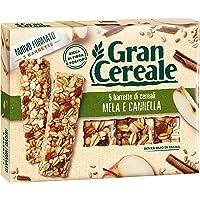 Gran Cereale Snack Barrette con Pezzetti di Mela e Cannella - 135 gr