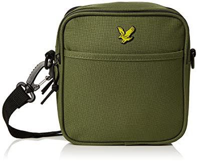 64001a99ecaf Amazon.com: Lyle & Scott Men's Core Pouch Wallet Green (Woodland ...