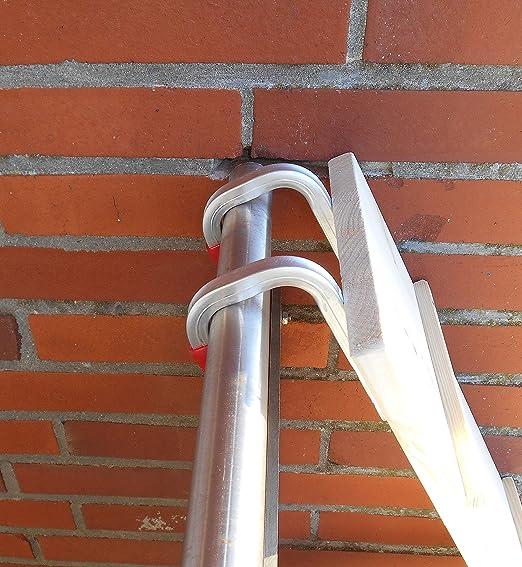 1 metro. Gato Escalera/Gato Escaleras para balcón, gato Muebles, abeto Natural 20 cm, con ganchos. (2100pb): Amazon.es: Productos para mascotas