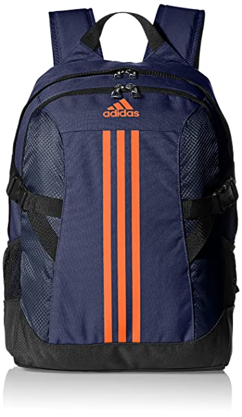 73a7364631aea7 adidas 27 Ltrs Blue, Orange and Black Casual Backpack (4056559158477 ...