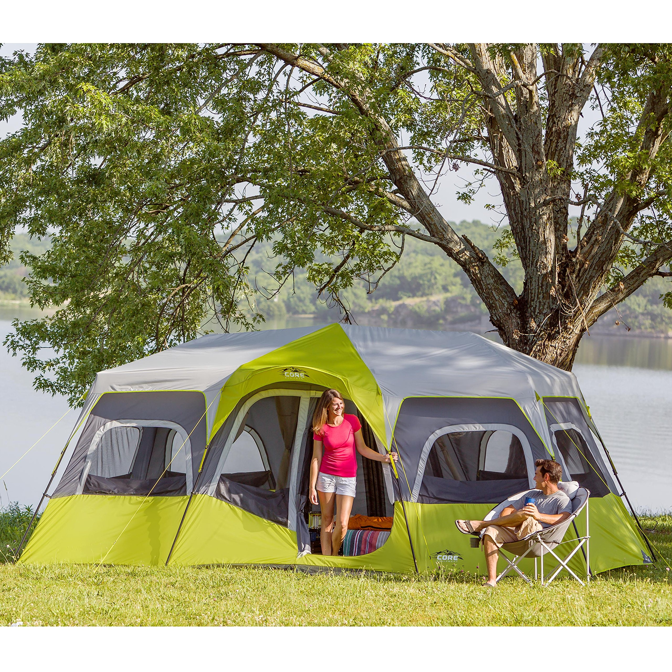CORE 12 Person Instant Cabin Tent - 18' x 10' by CORE (Image #4)