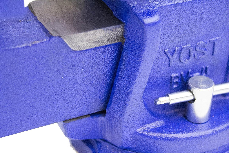 Yost Tools BV-6 Bench Vise Blue 6