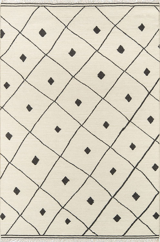 Erin Gates by Momeni Thompson Appleton Ivory Hand Woven Wool Area Rug 2\' X 3\'
