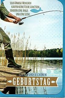 Lin Pop Up 3d Karten Geburtstagskarten Angler Amazon De