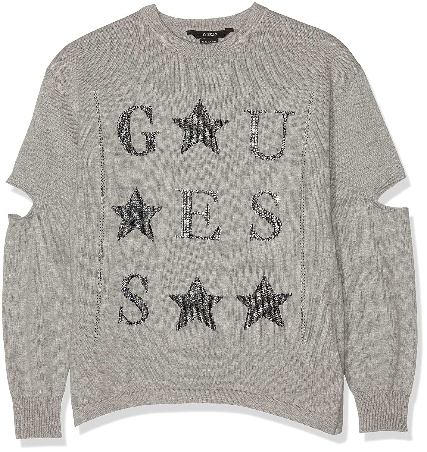 Pull Fille Guess Ls RN Cutout Sweater
