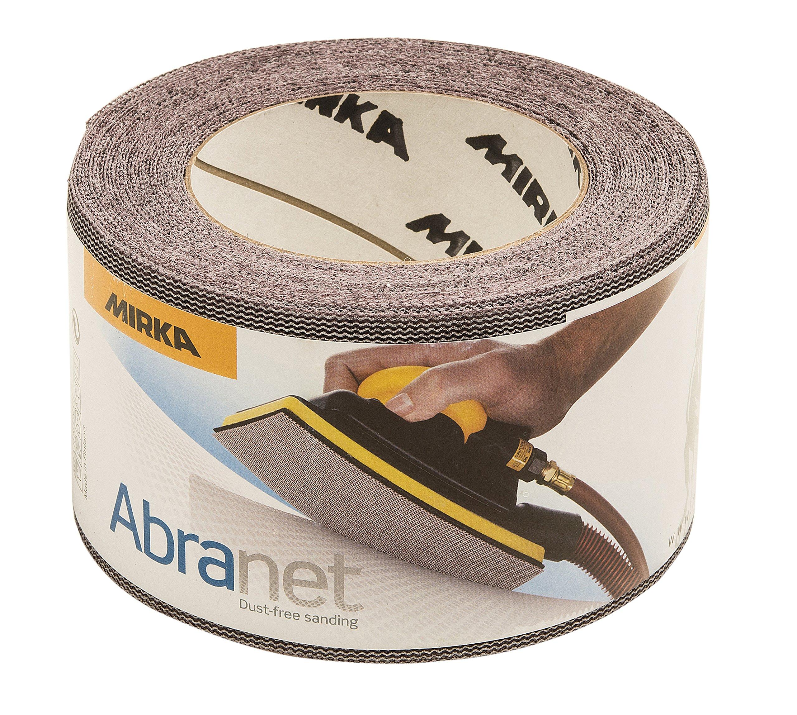 Mirka 9A-570-080 Abranet 2-3/4'' x 10yd Mesh Grip Roll by Mirka