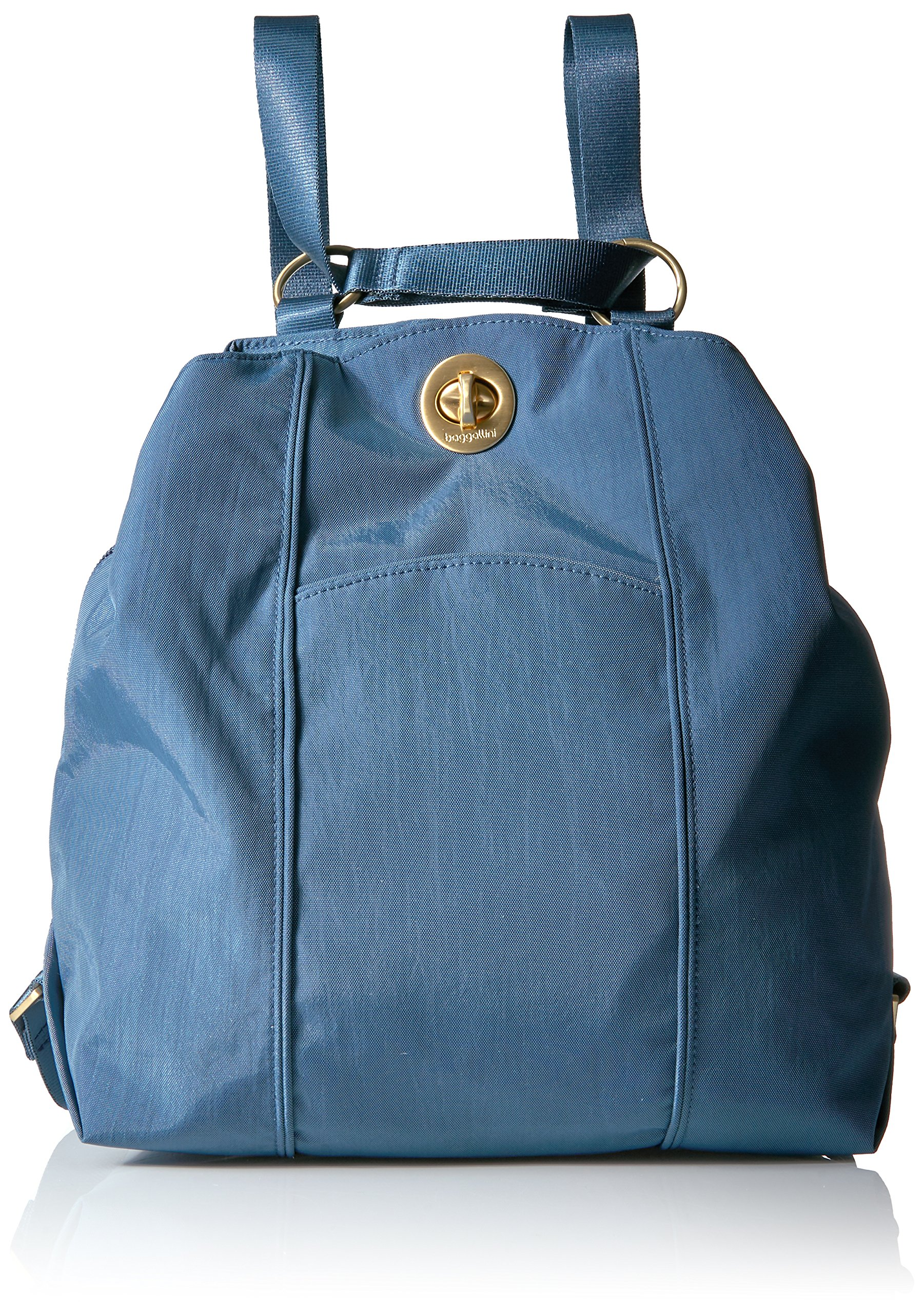 Baggallini Mendoza Backpack, Slate Blue, One Size