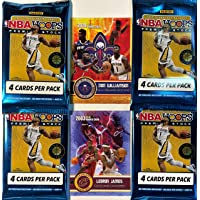 $69 » 2019-20 Panini NBA Hoops PREMIUM Stock FACTORY Sealed Basketball Card Packs (4…