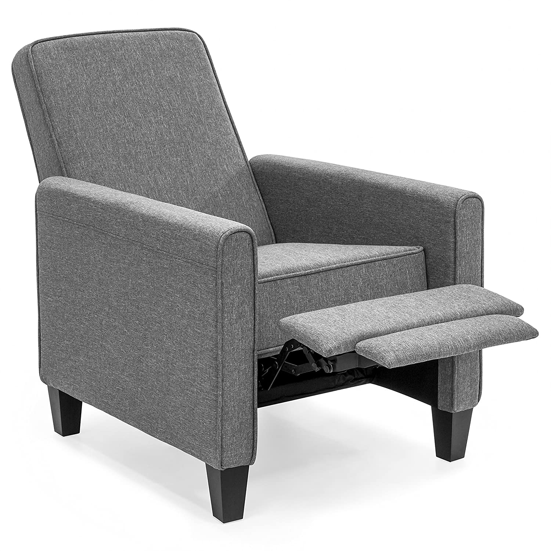 amazon com best choice products modern sleek upholstered fabric rh amazon com sleek modern furniture coupon code sleek modern furniture phone number