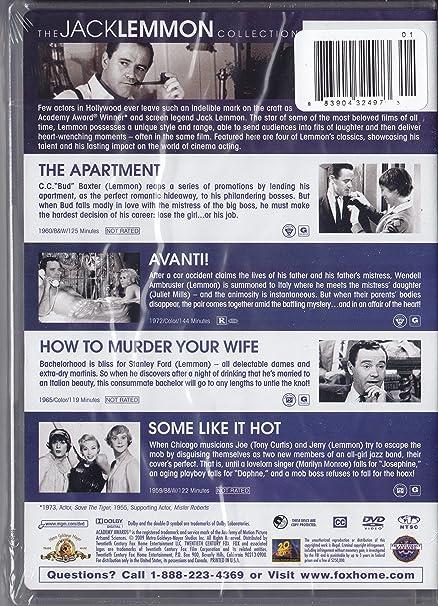 Amazon Com The Jack Lemmon Collection The Apartment Avanti