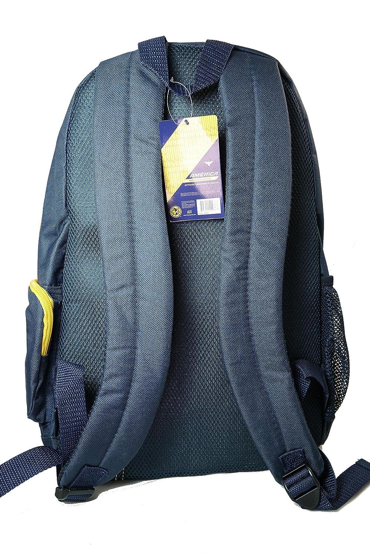 Amazon.com : CA Club America Team Logo Backpack - 002 : Sports Fan Backpacks : Sports & Outdoors