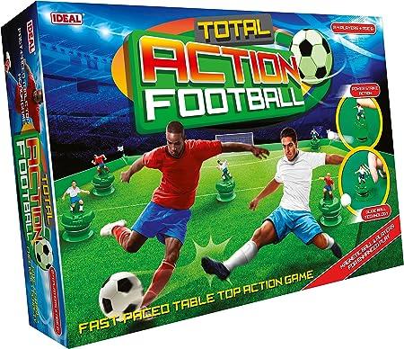 El juego de mesa de fútbol más realista y trepidante.,Ahora con equipos de 5 contra 5 para facilitar