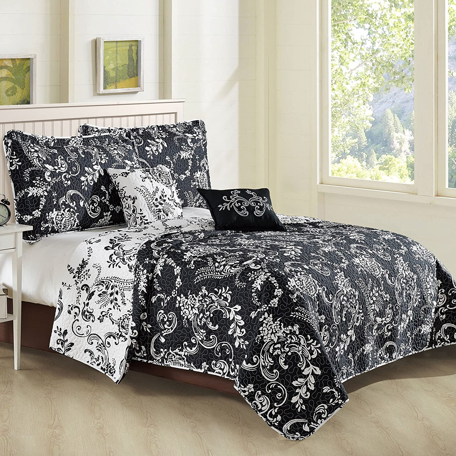 Home Soft Things LA Boheme Bedspread & Coverlet Sets King Coverlet: 102' x 90' Taupe BNF Home BNFPMQ5KLBH