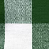 """DII Cotton Buffalo Check Plaid Rectangle Tablecloth for Family Dinners or Gatherings, Indoor or Outdoor Parties, & Everyday Use (60x84"""",  Seats 6-8 People), Green & White"""