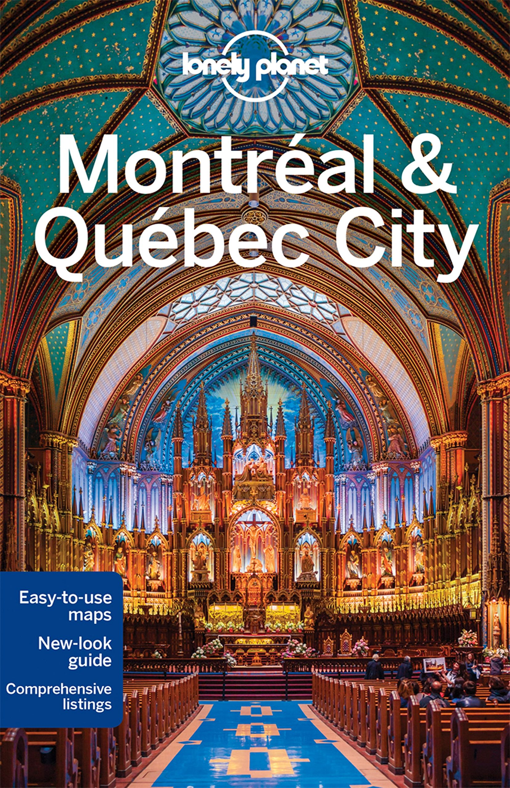 Lonely Planet Montreal Quebec Travel product image