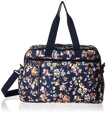 7986f39c6c Amazon.com  Vera Bradley Lighten Up Weekender Travel Bag