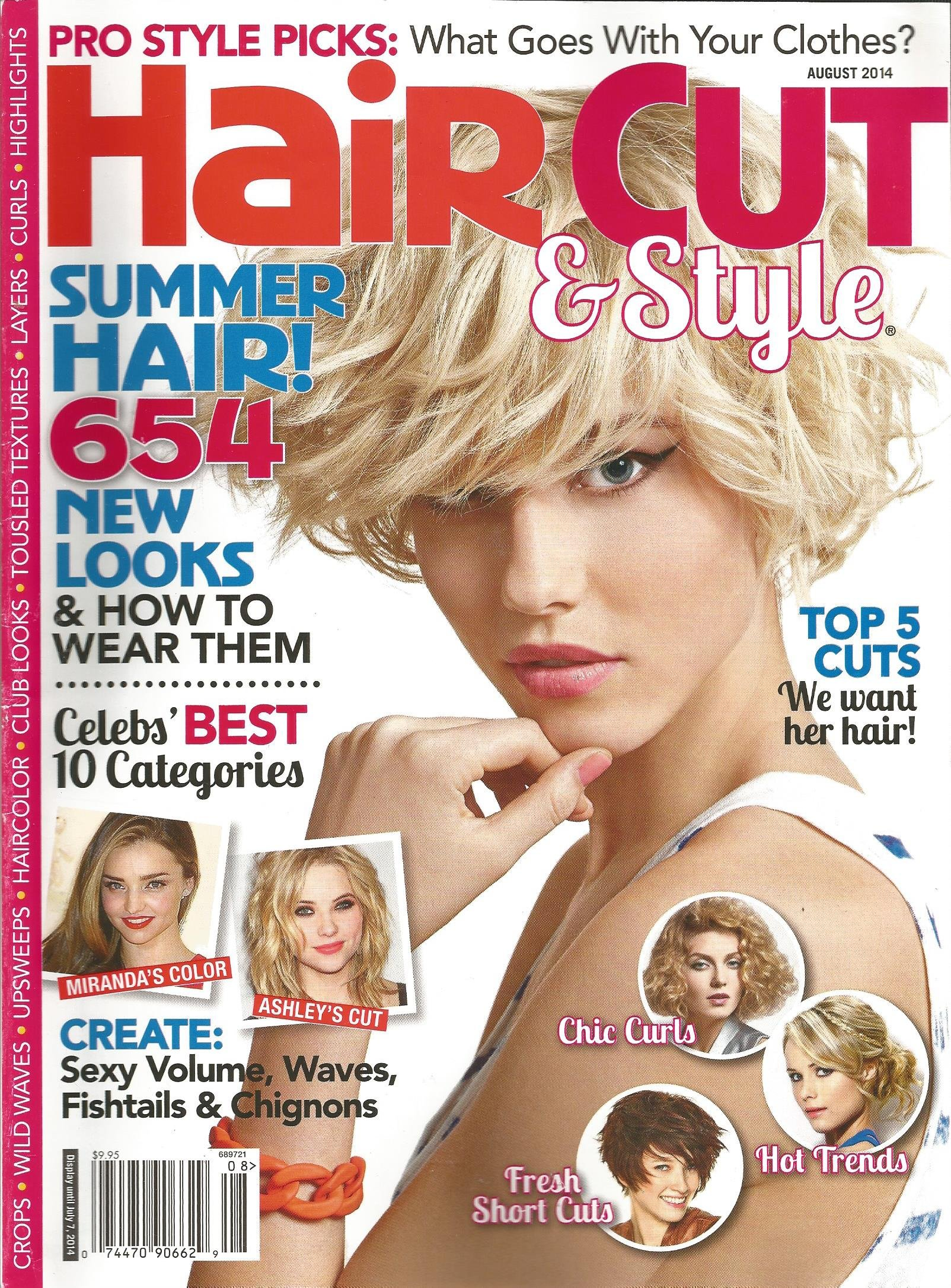 Hair Style Magazine August 2014 product image