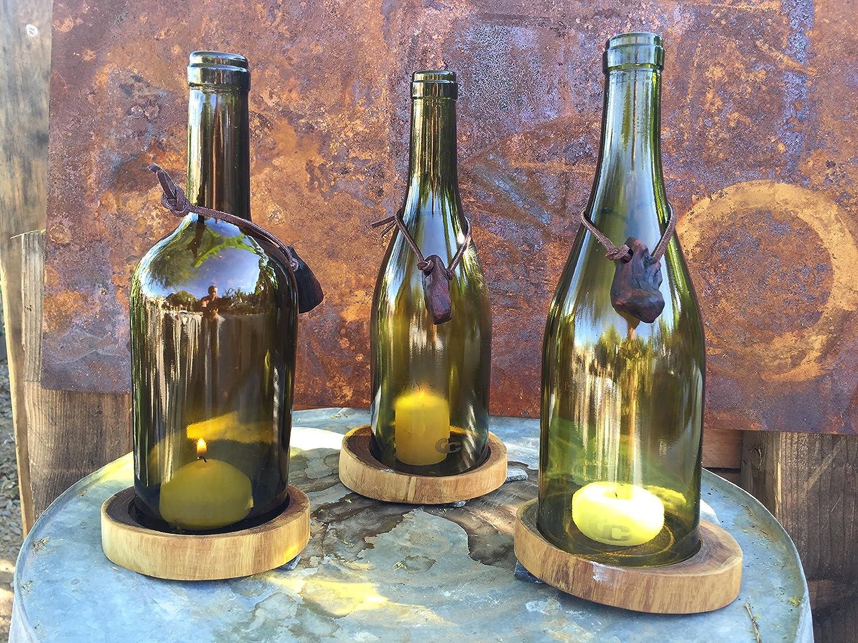 Gadgy ® Maquina Cortador de Botellas de Vidrio Ronda | Glass Cristal Bottle Cutter | Hacer Corta Objetos Decoracion Cristaleria Portavelas Candelabros Vaso ...