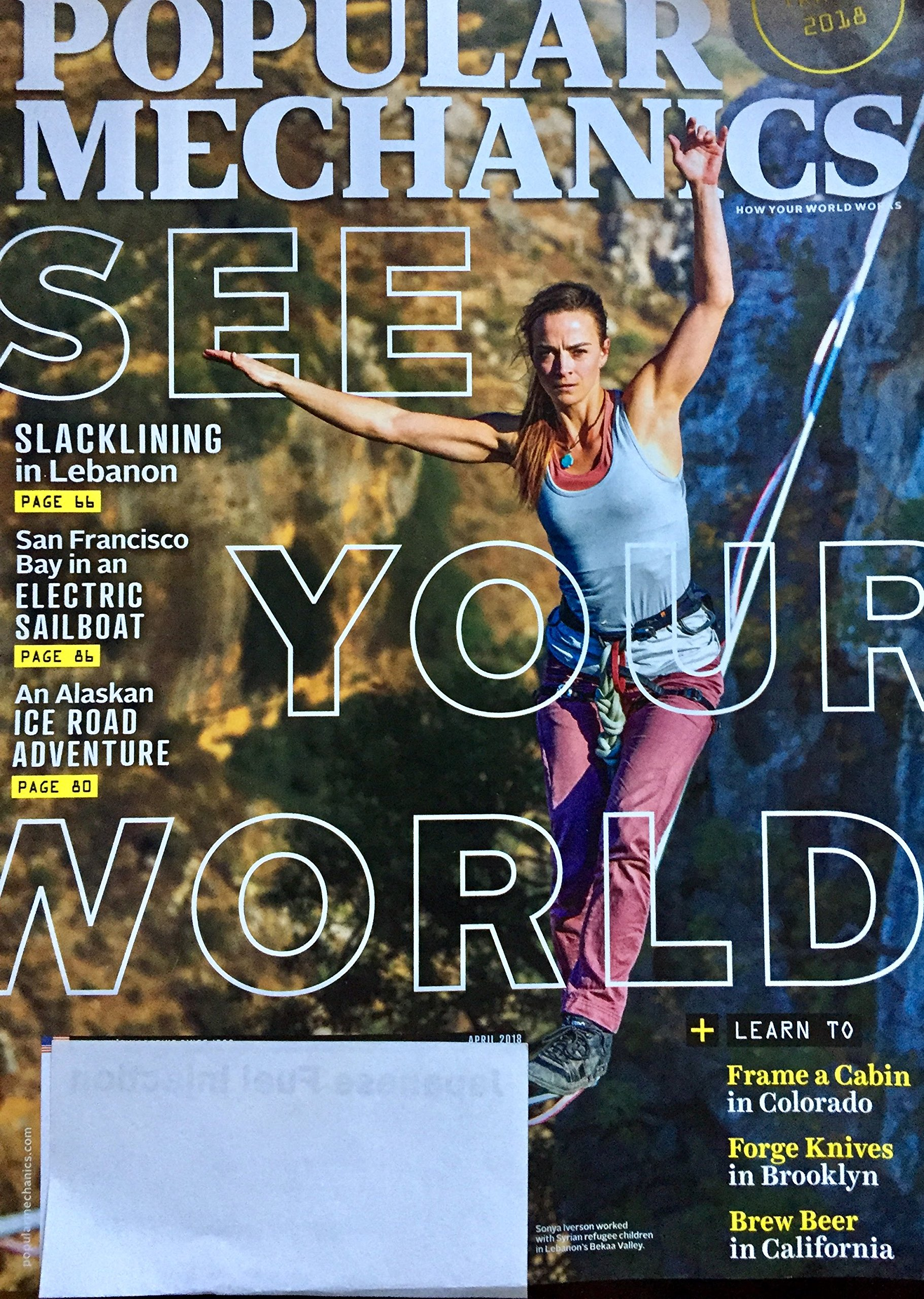 Popular Mechanics April 2018 See Your World Amazon Com Books