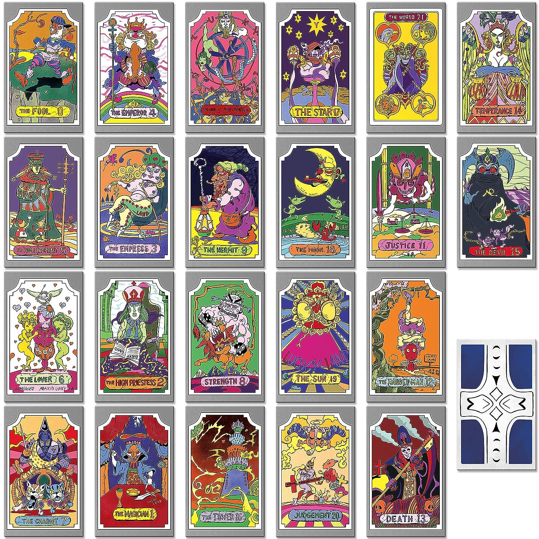 Instabuy Jojo Bizzarre Adventure - Manojo de Cartas de Tarot ...