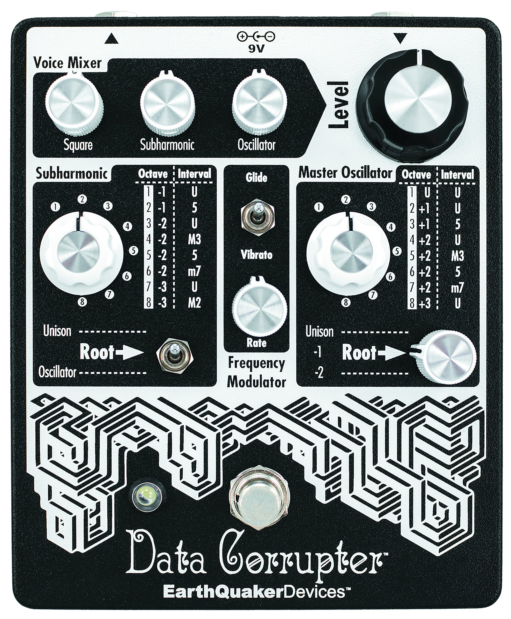 EarthQuaker Devices Data Corrupter Modulated Monophonic Harmonizing PLL Pedal by Earthquaker Devices