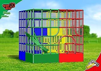 Klettergerüst Quadro Rutsche : Quadro cube playcenter klettergerüst amazon spielzeug