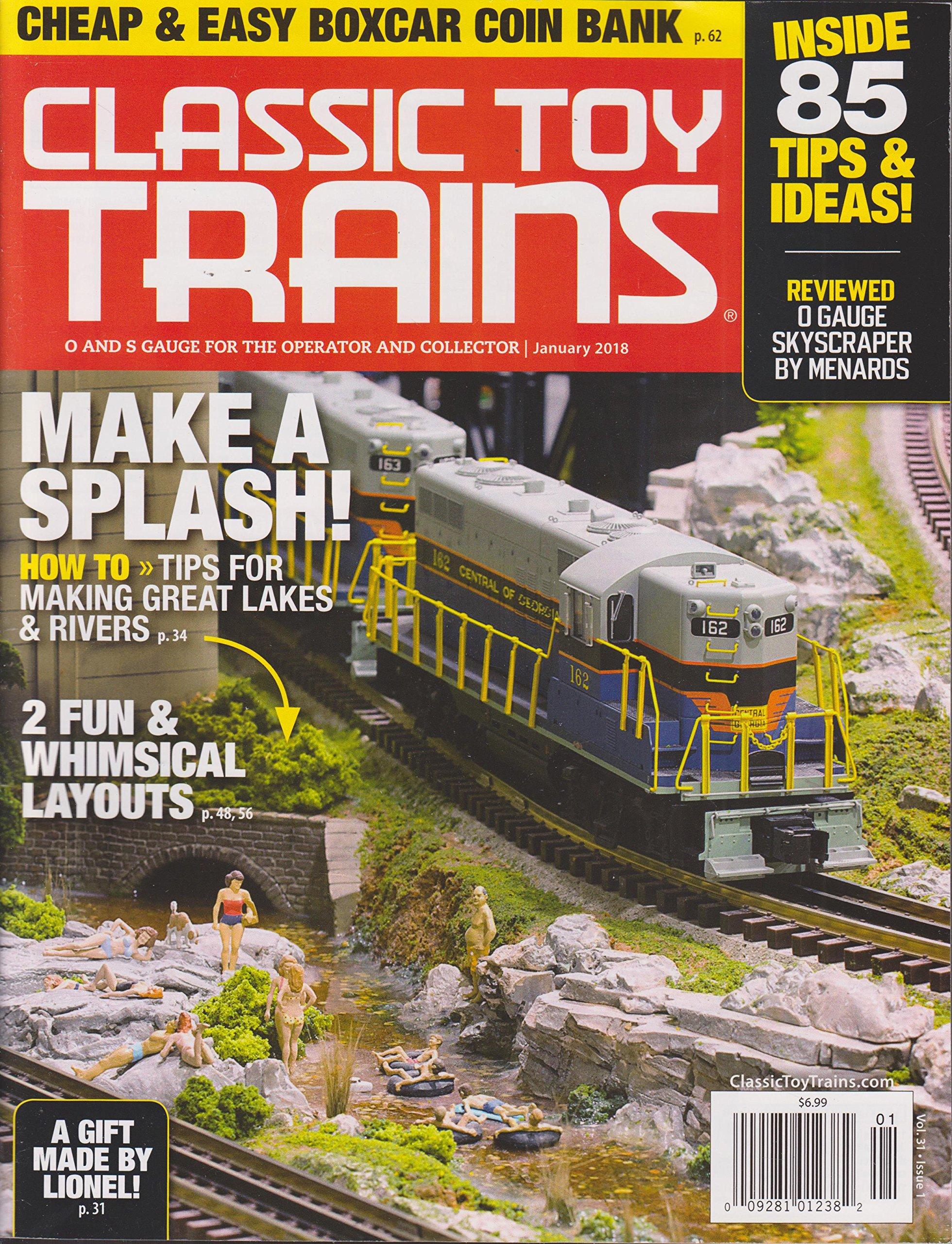 Classic Toy Trains Magazine January 2018 PDF