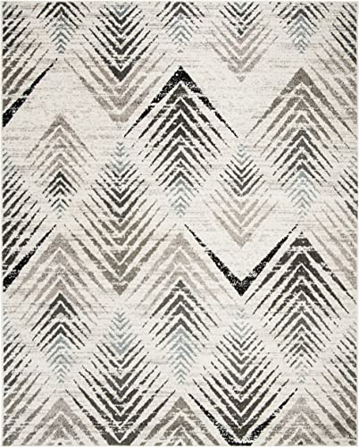 Safavieh Amsterdam Collection Cream and Beige Area Rug, 9 x 12