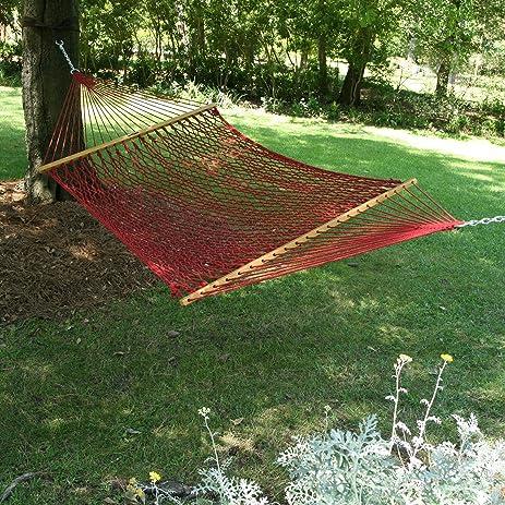 pawleys island large original duracord rope hammock amazon     pawleys island large original duracord rope hammock      rh   amazon