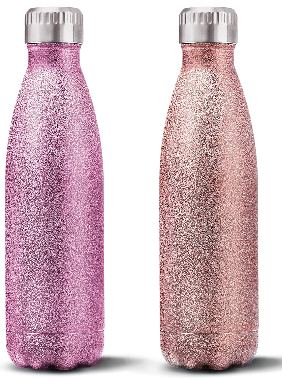 Amazon.com: Bella Design - Juego de 2 botellas de agua con ...