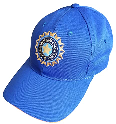 50bd54f3fb2 Image Unavailable. Image not available for. Colour  hhumanmakerr Men s  Cotton Team India Supporter Cricket Cap ...