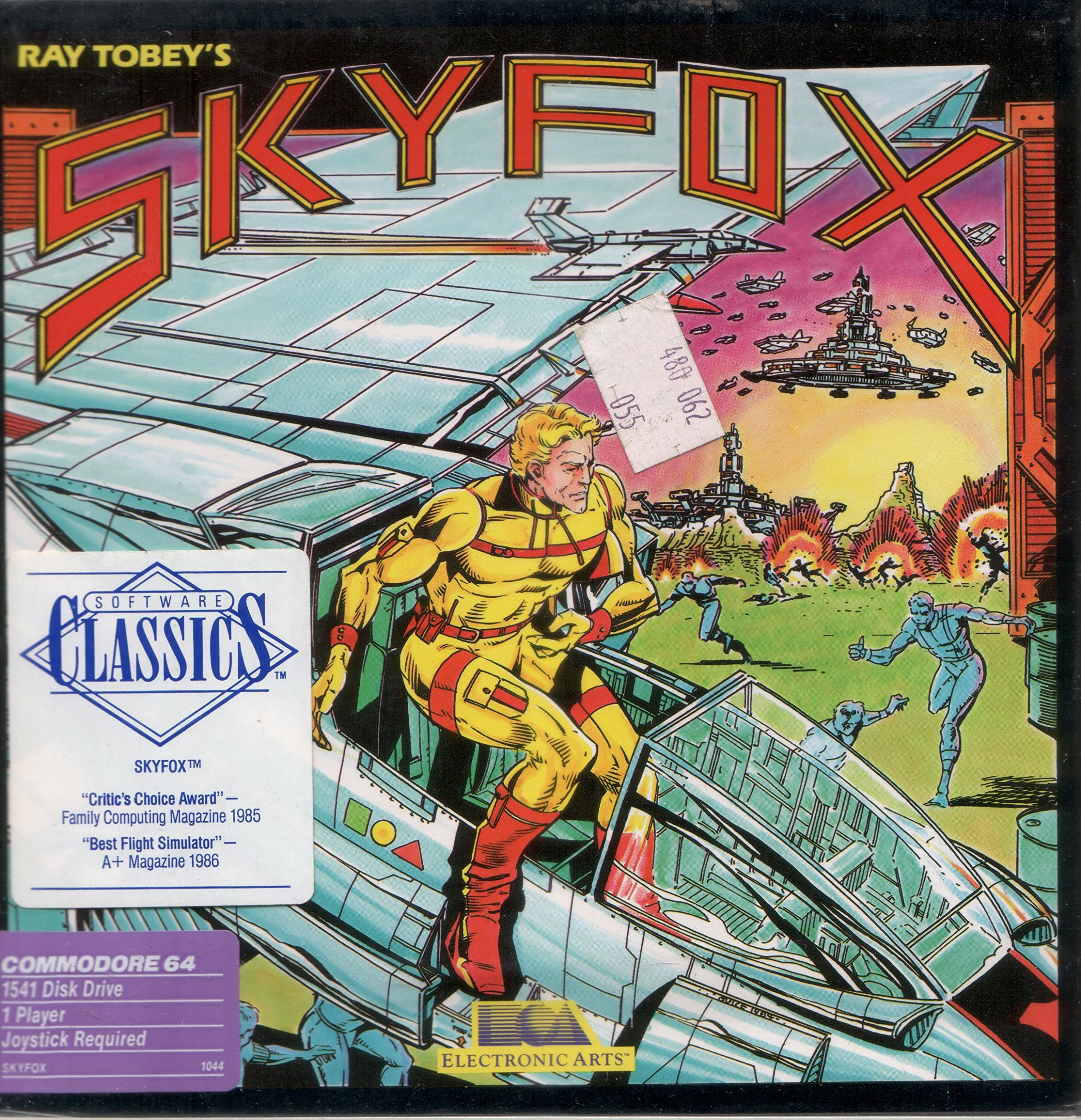 Amazon com: Skyfox (1985) by Electronic Arts, Inc  (For