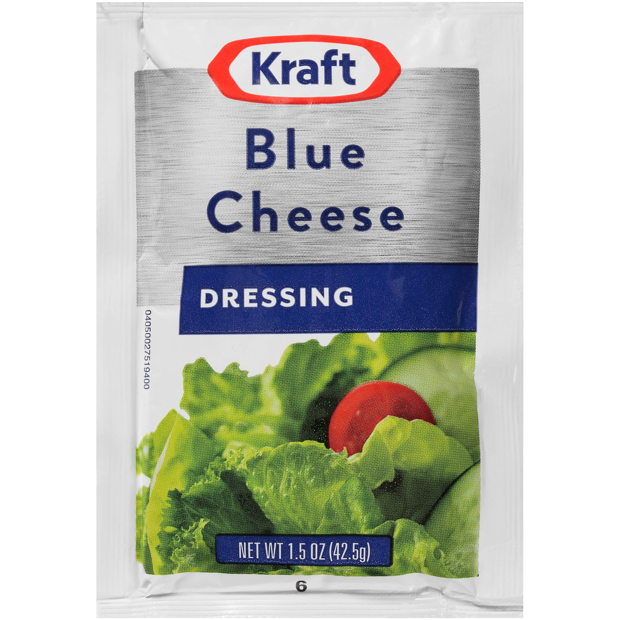 Kraft Blue Cheese Dressing (1.5 oz Packets, Pack of 60)