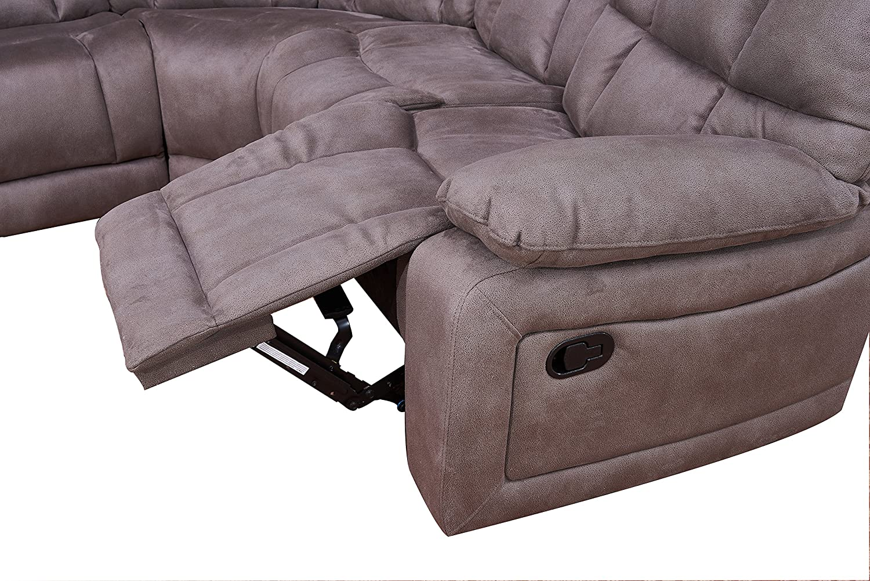 Amazon.com: BETSY Muebles grande Seccionales salón sofá ...