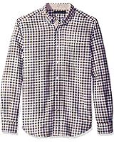 Nautica Men's Classic Fit Marine Check Shirt