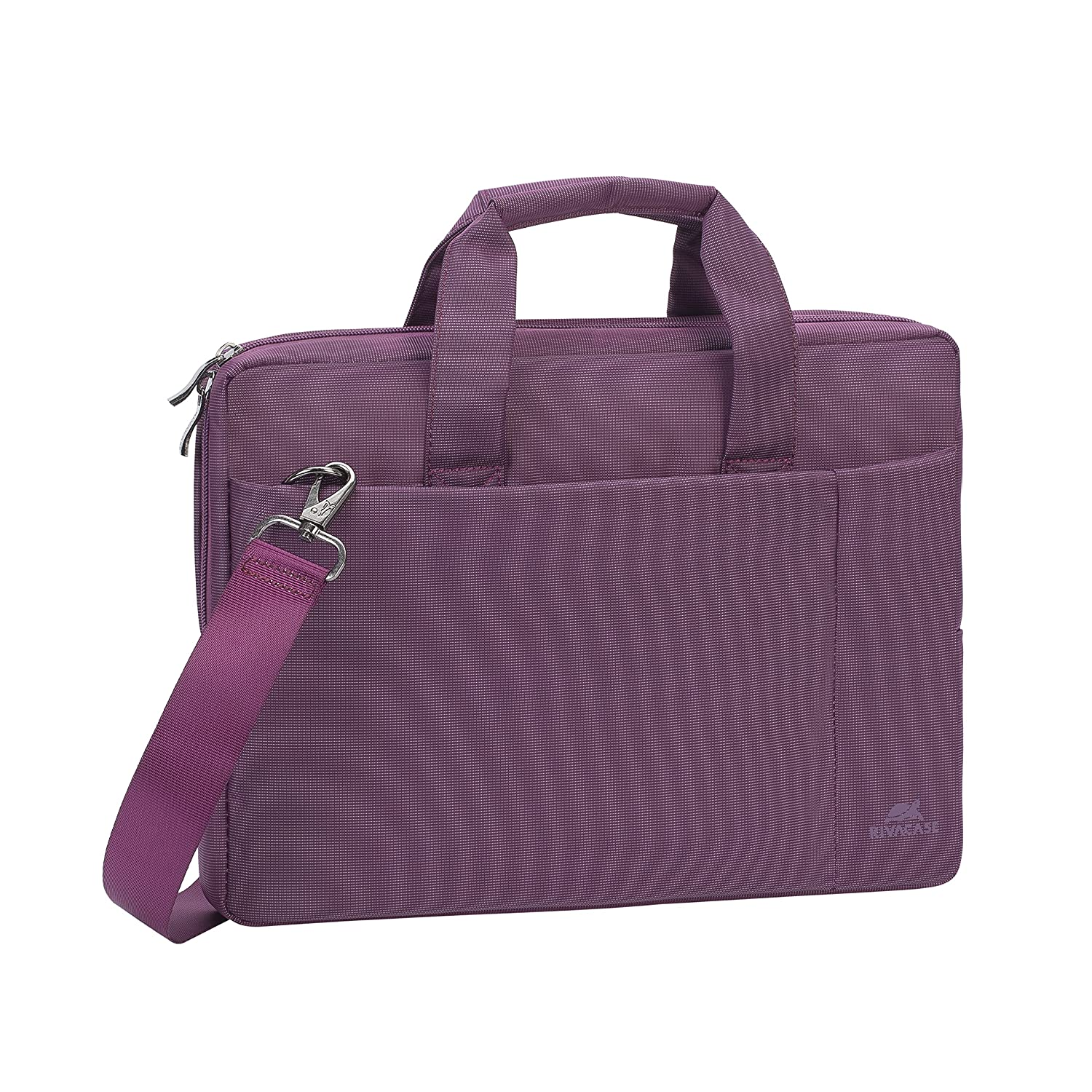 Amazon.com: Rivacase 13.3 inch Laptop Bag w/Padded Compartment for Ultrabooks, Macbook Air/Pro - Violet: Computers & Accessories