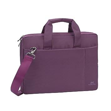 RivaCase 8221 Bolsa para ordenador portátil hasta 33,8 cm (13,3 pulgadas) violeta: Amazon.es: Informática